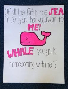 whale u go to hc w me