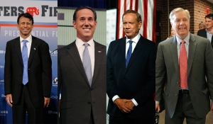 Jindal, Santorum, Pataki, and Graham.